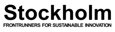 Frontrunners for sustainable innovation, Stockholm.